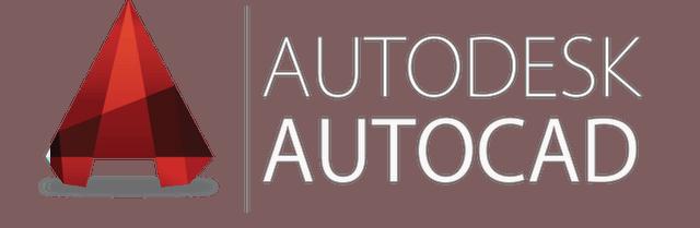 AutoCAD Logo White Color Image