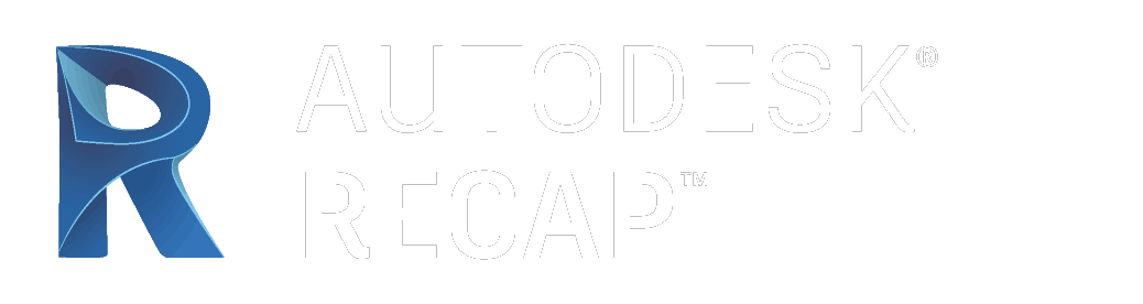Recap Autodesk Logo White Color